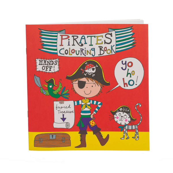 Pirate Colouring Book